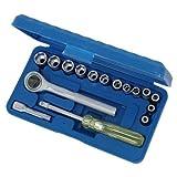 Socket Set 17pc X Pack Of 4