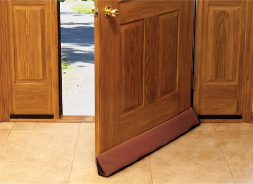 Ez glide door draft blocker for 36 inch doors for Door draft stopper
