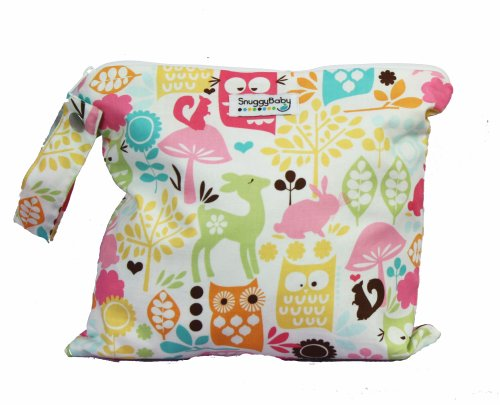 Snuggy Baby Wet Bag - Woodland Owls - 1