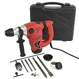 Bohrhammer inklusive Koffer Borher mit 1500 W Meißel