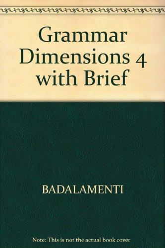 Grammar Dimensions 4, Platinum Edition (with Heinle's Brief Writer's Handbook)