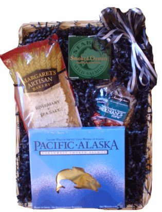 Seafood Snacker Healthy Gift Basket