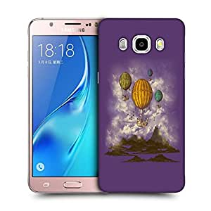 Snoogg Parachute Boats Designer Protective Back Case Cover For SAMSUNG GALAXY J5 2016 J510X