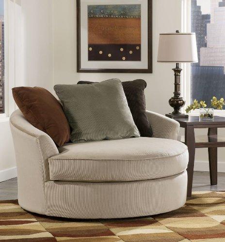 laken mocha oversized swivel accent chair online stores babooss. Black Bedroom Furniture Sets. Home Design Ideas