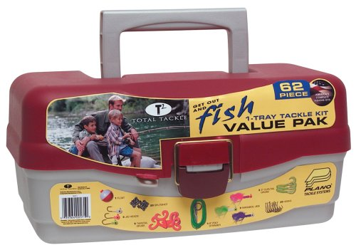South Bend Tackle Box Including with 62 piece Tackle Kit