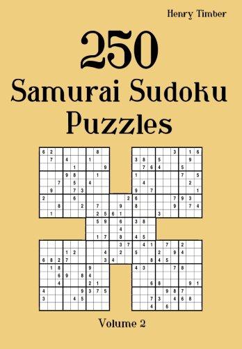 250 Samurai Sudoku Puzzles: Volume 2