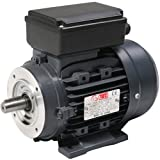 TEC 0.55KW Electric Motor, Single Phase, 3/4HP (Horse Power), Foot & Flange Mounted (B34), 3000 RPM (2 Pole), 71 Frame Size, ALUMINUM Body.