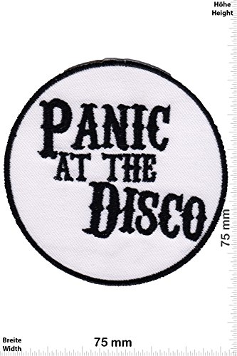 Patch - Panic at the Disco -Alternative Rock - Musicpatch - Rock - Vest - Iron on Patch - toppa - applicazione - Ricamato termo-adesivo - Give Away
