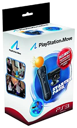 PlayStation Move Starter Pack with PlayStation Eye Camera and Move Controller (PS3)