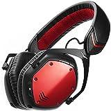 V-MODA Crossfade Wireless Casque Audio supra-auriculaire sans fil - Rouge