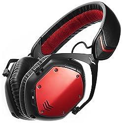 V-MODA Crossfade Wireless Over-Ear Headphone - Rouge Red