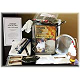 "Standing Stone Farms ""Complete"" DIY Cheese Making Kit PLUS DVD - Equipment & Ingredients! Feta, Chevre, Mozzarella, Burrata, Burricotta, Cheddar Cheese Curds, Ricotta, Monterey Jack, Cream Cheese and Butter!"