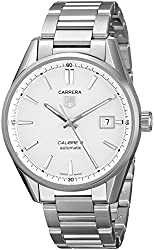 TAG Heuer Men's WAR211B.BA0782 Carrera Stainless Steel Automatic Watch