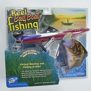Reel bass boat fishing handheld electronic for Electronic fishing game