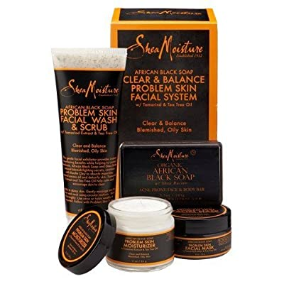 SheaMoisture African Black Soap Acne Care Kit TRG