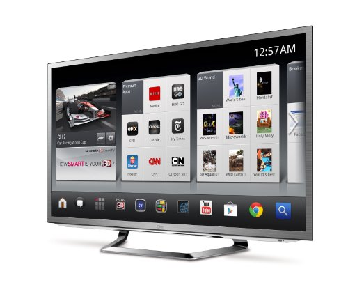LG 47G2 47-Inch Cinema 3D 1080p 120Hz LED-LCD HDTV with Google TV and Six Pairs of 3D Glasses