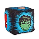 Marvel The Avengers Heroes Printed Pouf Ottoman