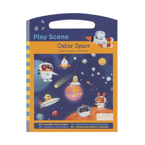Mudpuppy Outer Space Play Scenes
