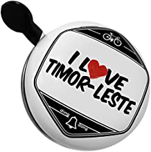 Bicycle Bell I Love Timor-Leste by NEONBLOND