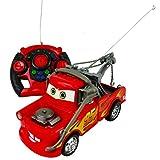 DISNEY PIXAR LIGHTNING MCQUEEN 19CM ELECTRIC RC RADIO REMOTE CONTROL CAR KID TOY