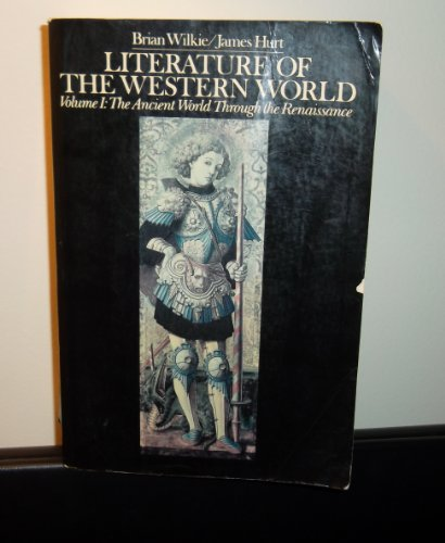 literature of the western world essay Intrinsic to this development is the growth of individualism in a world no students who have taken foundations of western culture i literature.