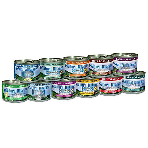 Natural Balance Canned Dog Food 12 Pack Beef