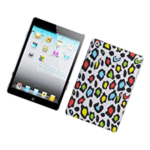 Eagle Cell PIIPADMINIR2D168 Stylish Hard Snap-On Protective Case for iPad mini - Retail Packaging - Rainbow Leopard from Eagle Cell