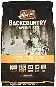Merrick Backcountry Pacific Catch Recipe Pet Food, 22-Pound