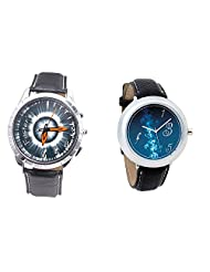 Foster's Men's Grey Dial & Foster's Women's Blue Dial Analog Watch Combo_ADCOMB0002318