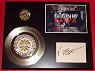 Frank Zappa 24kt Gold Record Signature Series LTD Edition Display FREE PRIORITY SHIPPING
