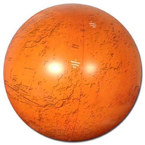 "Jet Creations Inflatable 14"" Mars Globe - 1"