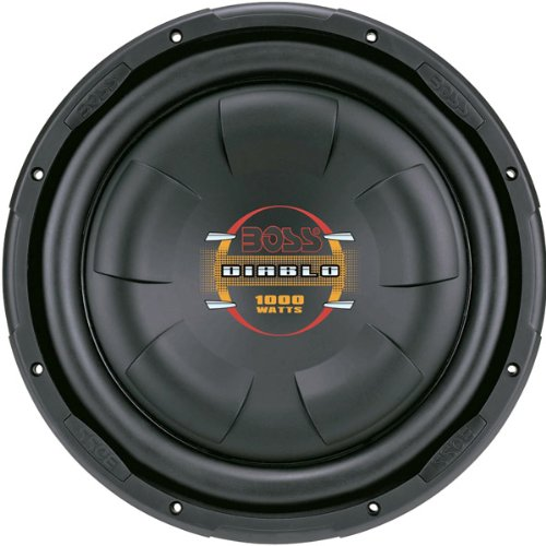 "Brand New Boss 10"" Diablo Series Low Profile Subwoofer"