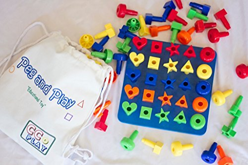 Best Learning Toys For 3 Year Olds : Best peg toy building set for smart toddlers great montessori
