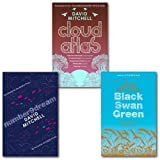 David Mitchell Collection 3 Books Set, (Black swan Green, number 9bream and cloud atlas) David Mitchell