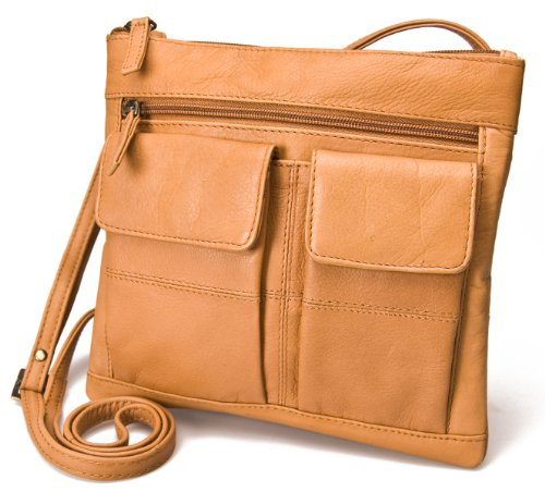 ladies-visconti-atlantic-genuine-soft-leather-small-messenger-shoulder-cross-body-bag-18608a-sand