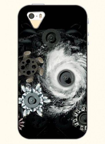 Oofit Phone Case Desin With Whirlpool For Apple Iphone 4 4S 4G