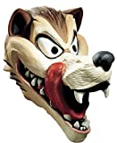 Hungry Wolf Animal Deluxe Latex Adult Halloween Costume Mask