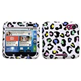 Color Leopard Print Protector Case Phone Cover for Motorola Flipout MB511