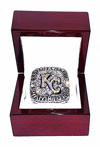 KANSAS CITY ROYALS (Lorenzo Cain) 2014 MLB American League Champions Rare & Collectible High-Quality Replica Baseball Championship Ring (Ring Champion Mlb compare prices)