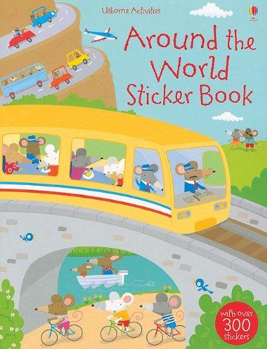 Around the World Sticker Book (Usborne Activities)