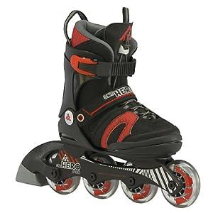 K2 SK8 Hero Pro Pack Adjustable Kids Inline Skates by K2 Skate