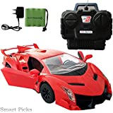 Smart Picks Rechargeable Remote Control Open Door With Led Lights Lamborghini Model Car With 3.6v Battery And...