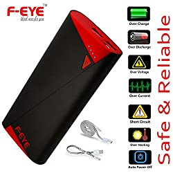 Power Banks Mobile Phone Chargers Dual USB Battery Backup-10400mAh F-EYE Ultra Premium