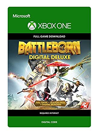 Battleborn Digital Deluxe - Xbox One Digital Code