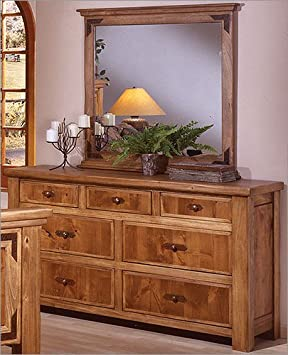 Lodge 100 Seven Drawer Dresser