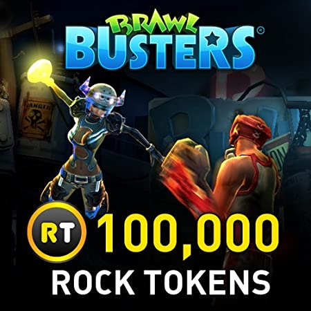 100,000 Rock Tokens: Brawl Busters [Game Connect]