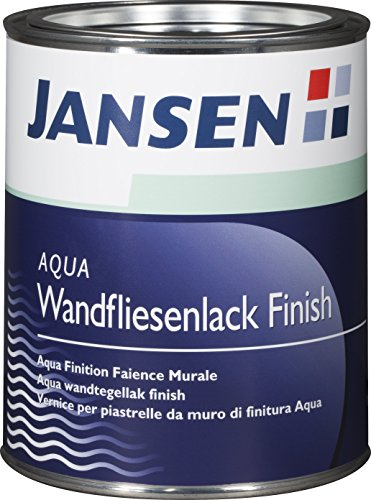 jansen aqua fliesenlack finish transparent 750ml. Black Bedroom Furniture Sets. Home Design Ideas