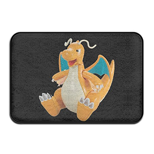 JML93 Home Furnishing Bedroom Dragon Poke NonSlip Rug White (My Lil Pony Toddler Bed compare prices)