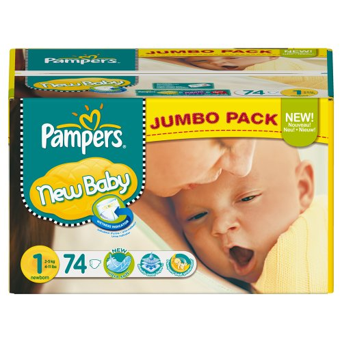 Pampers  New baby 74pc