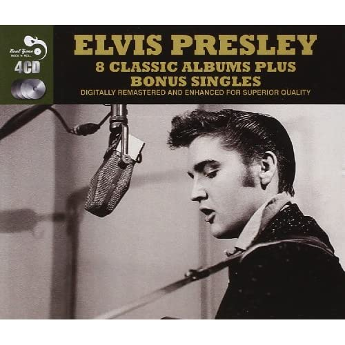 8-Classic-Albums-Plus-Bonus-Singles-Audio-CD-Elvis-Presley-Elvis-Presley-Audio